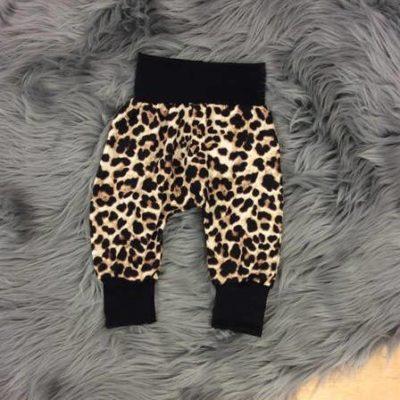 Cheetah Harem Pants NB-12m