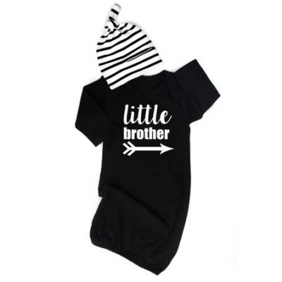 Little Brother Gown and hat